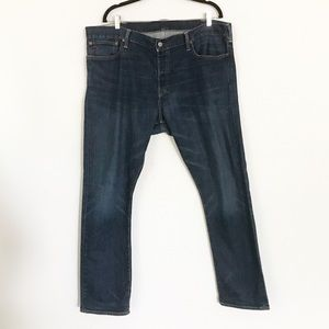 Ralph Lauren straight leg button fly denim jeans